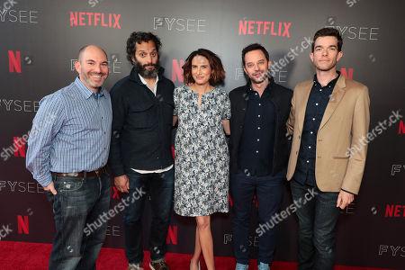 Andrew Goldberg, Executive Producer, Jason Mantzoukas, Jessi Klein, Nick Kroll, John Mulaney