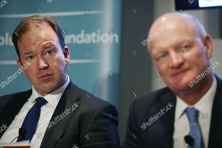 Jesse Norman M.P., Parliamentary under Secretary, Department of Transport, David Willetts, Executive Chair of the Resolution Foundation