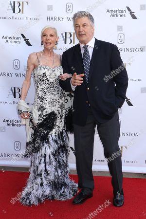 Stock Picture of Michelle Herbert, Alec Baldwin