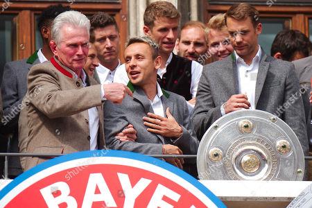 Jupp Heynckes, Rafinha, Manuel Neuer