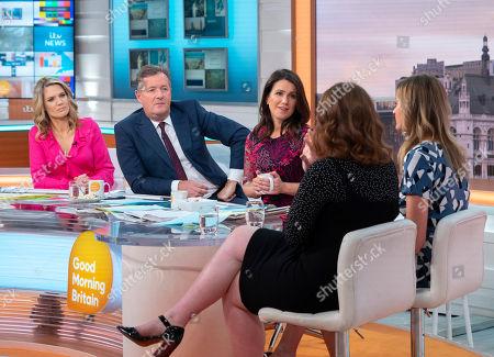Editorial photo of 'Good Morning Britain' TV show, London, UK - 22 May 2018