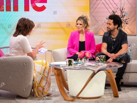 Lorraine Kelly, The Shires - Crissie Rhodes and Ben Earle
