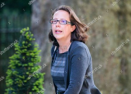 Baroness Evans of Bowes Park,, Leader of the House of Lords, Lord Privy Seal, arrives for the Cabinet meeting in Downing street