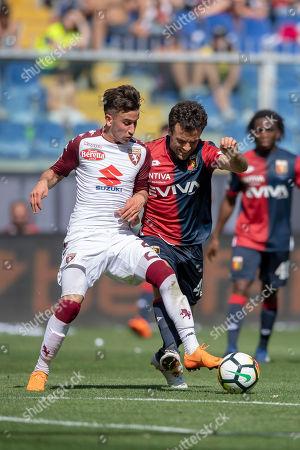 Giuseppe Rossi of Genoa and Alejandro Berenguer Remiro of Torino