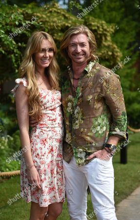 Nicky Clarke and girlfriend Kelly Simpkin