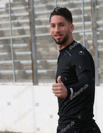 Tunisian goalkeeper Mouez Hassen