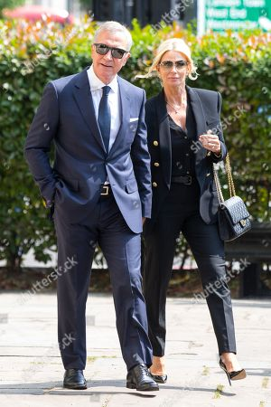 Graeme Souness and Karen Souness