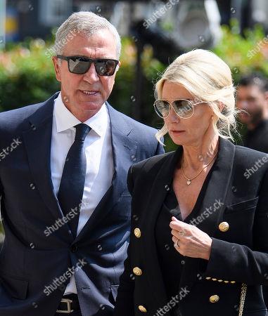 Graeme Souness and His Wife Karen