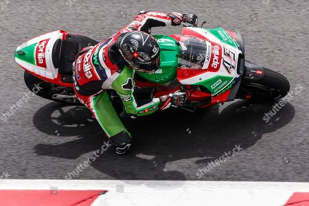 45 Scott Redding from Great Britain of Aprilia Racing Team Gresin action during the Moto GP Tests on May 22, 2018 at Circuit de Barcelona - Catalunya in Barcelona, Spain
