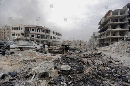 Syrian regime in full control of capital Damascus, Syria - 22 May 2018 témájú szerkesztői fotó