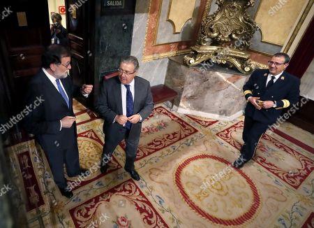 Mariano Rajoy and Juan Ignacio Zoido