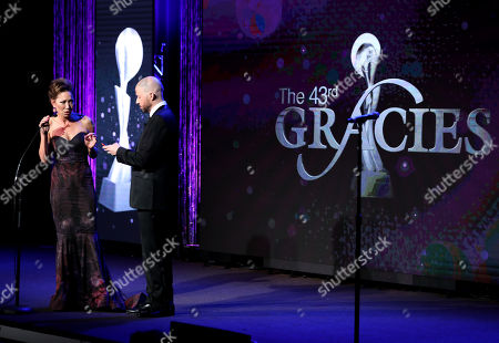 Editorial image of Gracie Awards, Show, Los Angeles, USA - 22 May 2018
