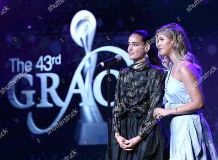 Chelsea Gilligan and Lexi DiBenedetto