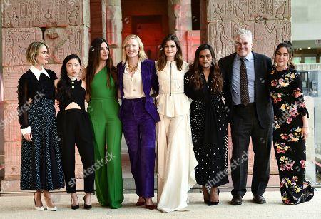Sarah Paulson, Awkwafina, Sandra Bullock, Cate Blanchett, Anne Hathaway, Mindy Kaling, Gary Ross, Olivia Milch