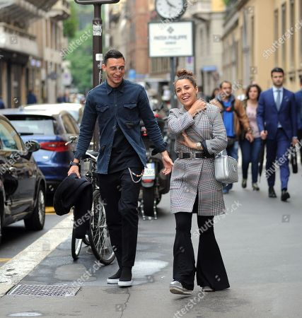 Editorial picture of Matteo Darmian out and about, Milan, Italy - 22 May 2018