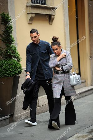 Editorial image of Matteo Darmian out and about, Milan, Italy - 22 May 2018