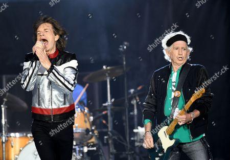 Rolling Stones concert London Stadium Stock Photos