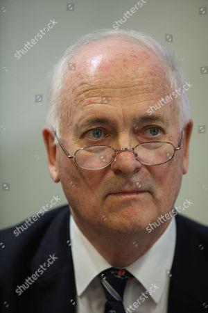 Stock Image of John Bruton, former Taoiseach / Irish Prime Minister