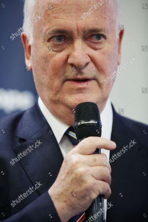 Stock Picture of John Bruton, former Taoiseach / Irish Prime Minister