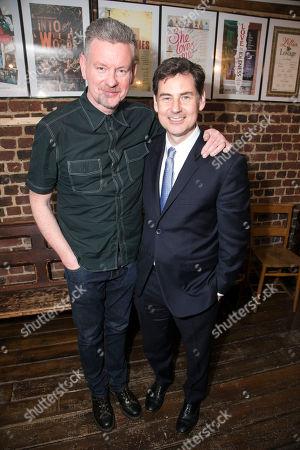 John Gordon Sinclair (Rick) and BT McNicholl (Director)
