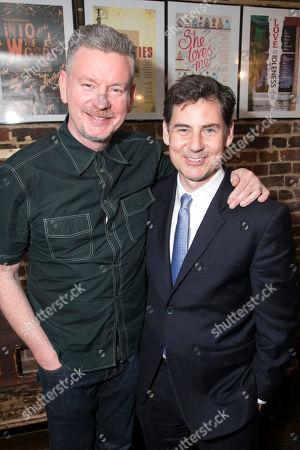 Stock Image of John Gordon Sinclair (Rick) and BT McNicholl (Director)