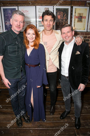 Editorial photo of 'The Gronholm Method' party, Press Night, London, UK - 22 May 2018