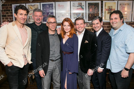 Editorial image of 'The Gronholm Method' party, Press Night, London, UK - 22 May 2018