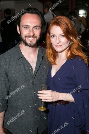 George Blagden and Laura Pitt-Pulford (Melanie)