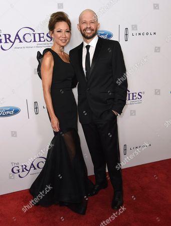 Lisa Joyner, Jon Cryer. Lisa Joyner, left, and Jon Cryer arrive at the 43rd annual Gracie Awards at the Beverly Wilshire Hotel, in Beverly Hills, Calif