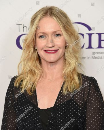 Paula Malcomson arrives at the 43rd annual Gracie Awards at the Beverly Wilshire Hotel, in Beverly Hills, Calif