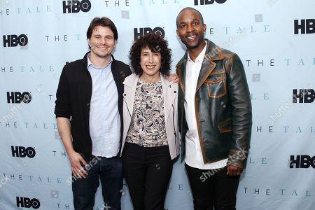 Jason Ritter, Jennifer Fox (Director), Wade Davis