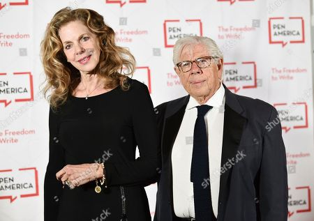 Christine Kuehbeck, Carl Bernstein. Journalist Carl Bernstein and wife Christine Kuehbeck attend the 2018 PEN Literary Gala at the American Museum of Natural History, in New York