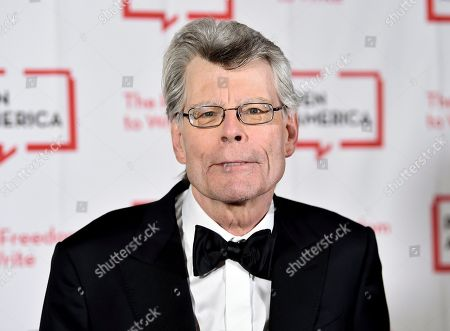 PEN America literary service award recipient Stephen King attends the 2018 PEN Literary Gala at the American Museum of Natural History, in New York