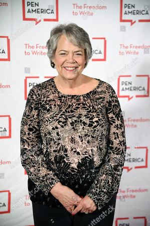 Simon & Schuster president Carolyn Reidy attends the 2018 PEN Literary Gala at the American Museum of Natural History, in New York