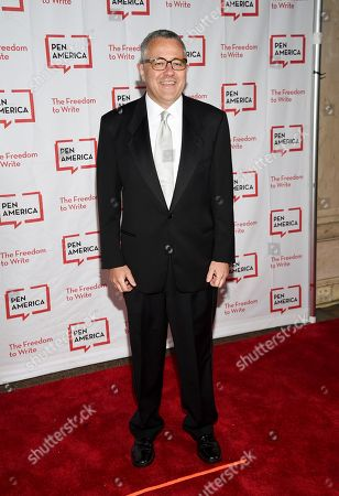 Lawyer and author Jeffrey Toobin attends the 2018 PEN Literary Gala at the American Museum of Natural History, in New York