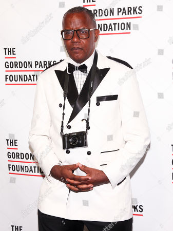 Jamel Shabazz attends the The Gordon Parks Foundation Annual Awards Gala at Cipriani 42nd Street, in New York