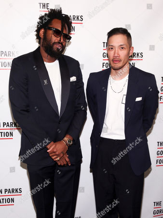 Maxwell Osborne, Dao-Yi Chow. Maxwell Osborne, left, and Dao-Yi Chow, right, attend the The Gordon Parks Foundation Annual Awards Gala at Cipriani 42nd Street, in New York
