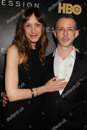Natalie Gold and Jeremy Strong