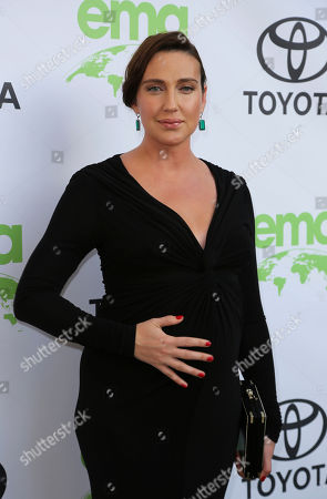 Anna Schafer arrives at the 28th Annual EMA Awards at the Montage Beverly Hills, in Beverly Hills, Calif