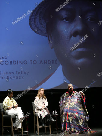 Tamron Hall, Kate Novack (Director) and Andre Leon Talley