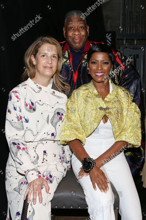 Kate Novack (Director), Andre Leon Talley and Tamron Hall