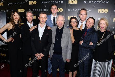 Natalie Gold, Alan Ruck, Jeremy Strong, Nicholas Braun, Brian Cox, Hiam Abbass, Matthew Macfadyen, Kieran Culkin, J. Smith-Cameron