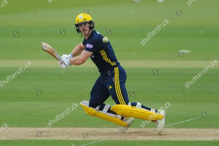Jimmy Adams of Hampshire batting during the Royal London One Day Cup match between Hampshire County Cricket Club and Essex County Cricket Club at the Ageas Bowl, Southampton. Picture by Dave Vokes
