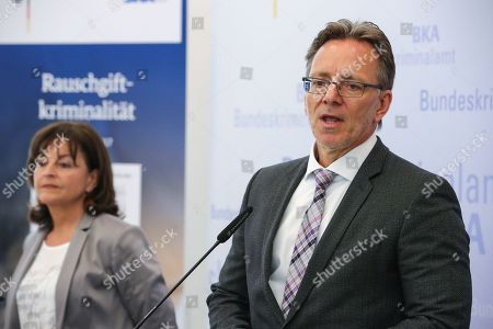 Stock Photo of Holger Muench and Marlene Mortler