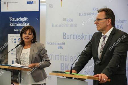 Stock Picture of Holger Muench and Marlene Mortler