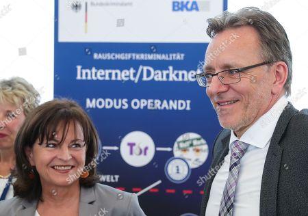 Holger Muench and Marlene Mortler