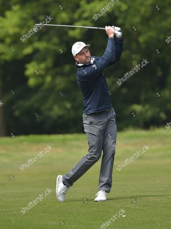 David Howell of England, playing in The Pro-Am.