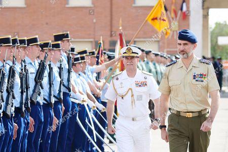 King Felipe VI visits School of Young Guards 'Duque de Ahumada', Valdemoro