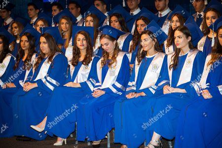 Princess Lalla Salma during her graduation ceremony