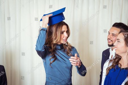 Queen Rania and Princess Lalla Salma
